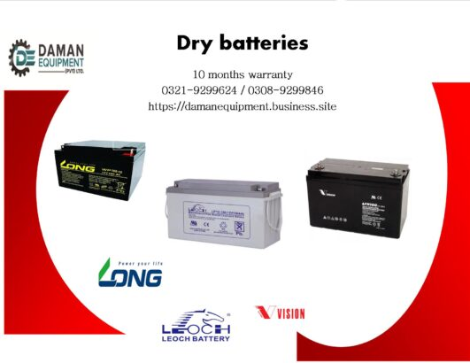 Long Dry Battery 9ah/12v with 10 months warranty