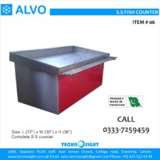 Fish Display Counter, Meat Display Chiller, Meat Shop equipment in Pakistan
