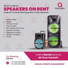 Speakers On Rent For Indoor Outdoor Events