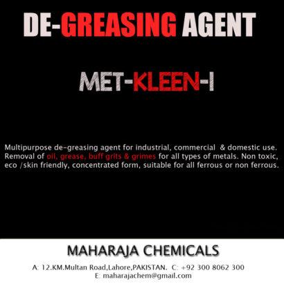 DE-GREASING CHEMICAL