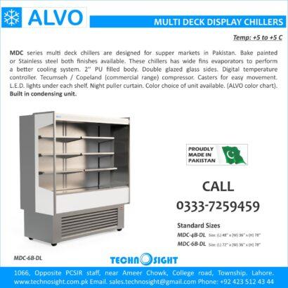 ALVO Fruit and Vegetable Display Chiller, Multi Deck Fridge