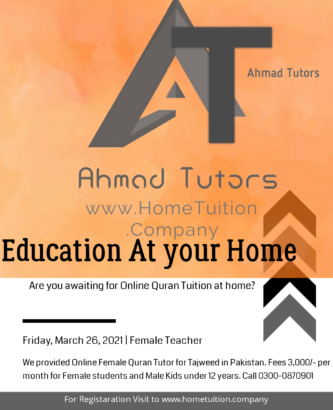 Online Female Quran Tutor Available in Hyderabad, Sindh