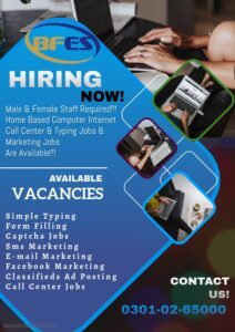 Best Offer for students, Male & Female you can earn money at home job