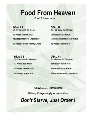 Food From Heaven ( Fresh & Frozen Food )