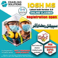 IOSH Managing Safely ver. 5.0 (VIRTUAL LIVE ONLINE CLASSES)