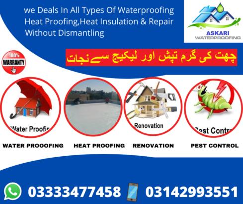 WATER PROOOFING