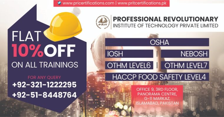 NVQ OHSP Level 6 Diploma in Lahore