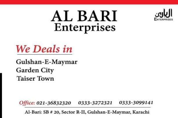 Deals in Gulshan-E-Maymar, Garden City & Taiser Town