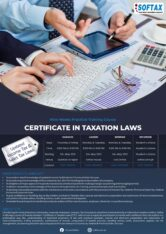 Certificate In Taxation Laws