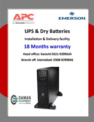 UPS APC SURT 10KVA with 18 months warranty delivery all over Pakistan