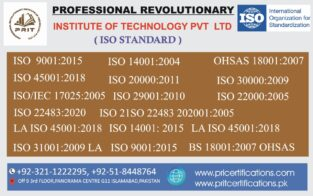 ISO 9001 2015 Course in Pakistan