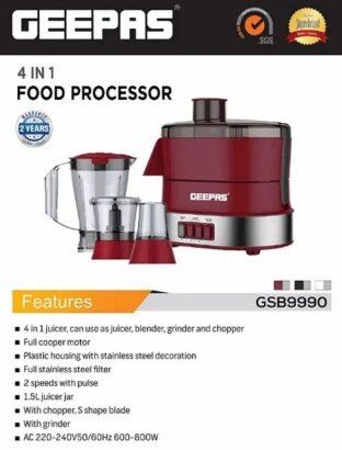 Best juicer machine Geepas 3in1