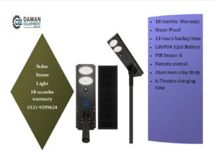 Solar Led Street Light 40w with 18 months warranty delivery all pak