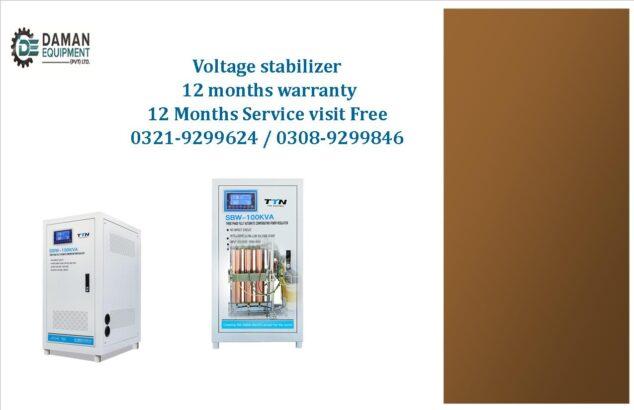Voltage stabilizer SBW TTN brand 3 phase 400kva with 12 months warranty