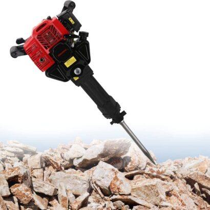 Demolition Hammer Jack Hammer Concrete Breaker Petrol Rock Drill Hammer