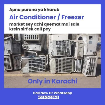 we deal all type of AC split old AC window AC