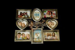 Silver family Photo frame