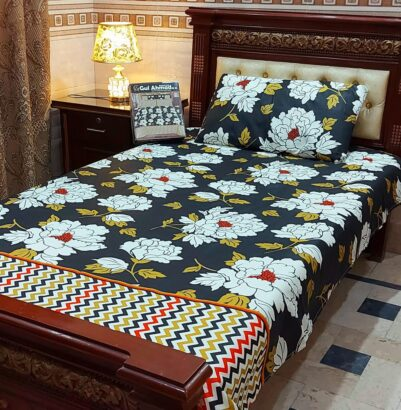 *NEW ARRIVAL* SINGLE BED SHEETS *PAIR PACK* Quality: Salonika Cot