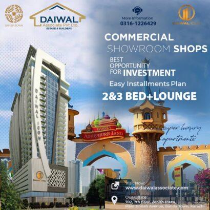 Daiwal icon apartments.Agha Shehzad Ali